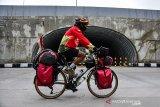 Petualang bersepeda Mahir Abdullah susuri 17.000 KM jelajahi Indonesia