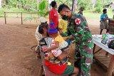 TNI keliling kampung melayani pengobatan warga di perbatasan RI-PNG