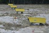 Banjir Luwu Utara, bandara lumpuh tertutup lumpur