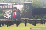 Lulusan Akmil Magelang ikuti Prasetya Perwira secara virtual
