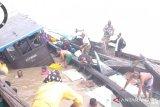 Kapal sembako karam di perairan Kuala Patah Parang