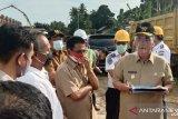 Wagub Nasrul Abit tinjau pembangunan terminal regional Anak Air Kota Padang