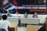 Terapkan protokol kesehatan, Uji Kompetensi Wartawan PWI ke-47