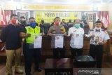 Polisi tangkap  pelaku pemalsuan surat hasil tes  COVID-19