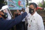 Objek wisata alam Jurang Jero Merapi simulasi  kunjungan wisata