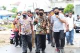Gubernur Kaltara tinjau peningkatan jalan lingkungan di Tarakan