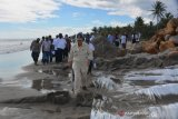 Breakwaters are built to overcome abrasion in Pesisir Selatan: Nasrul Abit
