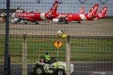 Sebanyak 102 pesawat menganggur di Bandara Soekarno-Hatta akibat pandemi