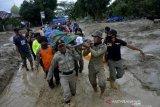 Polres Luwu Timur kerahkan personel evakuasi korban banjir Luwu Utara