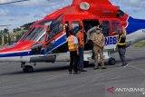 Gubernur dan Kepala BNPB tinjau lokasi banjir bandang Luwu Utara dari udara
