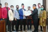 DPRD Kalteng teruskan aspirasi OKP terkait RUU Omnibus Law ke DPR RI