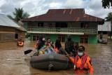 Korban  terdampak banjir Konawe Utara Sultra bertambah jadi 1.527 KK