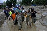 Polres Luwu Timur kerahkan personel ke lokasi banjir Masamba Luwu Utara