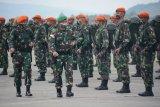 Danrem 172/PWY pimpin penerimaan dan pelepasan Satgas TNI AU BKO