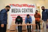 Pemkab teken perjanjian kerja sama dengan KPU dan Bawaslu Bantaeng