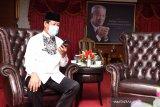 Pelaksana Tugas Gubernur Kepri minta restu warga di Karimun maju pilgub