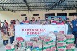 Pertamina MOR VII salurkan bantuan satu ton beras di Luwu Utara
