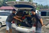 Kepergok curi mesin pompa air di Praya Tengah, pelaku panik tinggalkan motornya