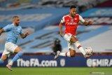 Arteta berharap kemenangan atas City yakinkan Aubameyang untuk bertahan