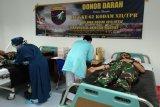 HUT Kodam Tanjung Pura, Kodim Muara Teweh gelar donor darah