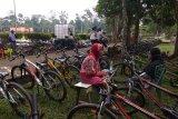 Aktivitas wisata di kompleks Percandian Muara Jambi mulai berdenyut lagi