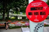 Warga Jepang yang inginkan Olimpiade tahun depan hanya seperempat jumlah penduduknya