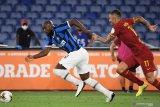 Lukaku bawa Inter lolos dari kekalahan di kandang Roma