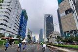 Cuaca cerah warnai wilayah Jakarta pada Selasa pagi