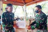 Lantamal VI gelar Bhakti TNI AL untuk penanggulangan COVID-19