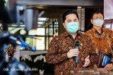 Erick Thohir : Vaksin COVID beredar 2021, protokol kesehatan tetap penting