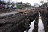 Drainase Jalintim Palembang-Betung segera dibangun atas kesepakatan