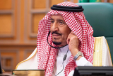 Raja Salman tinggalkan RS usai operasi kantong empedu