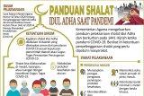 Panduan shalat Idul Adha saat pandemi