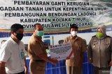 136 warga Kolaka Timur terima ganti rugi pembangunan Bendungan Ladongi