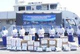 Korcab VI DJA II serahkan bantuan kepada korban banjir bandang Masamba