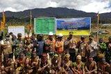 Pembangunan Makodim  Puncak wujud nyata pemerintah dukung perkembangan daerah