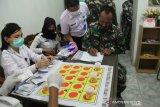 BNN Sulawesi Tenggara beri penyuluhan dan tes urine personel Denbekang XIV/HSN