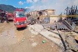 Penyebab terbakarnya Pasar Youtefa Abepura diduga akibat korsleting