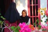 Mahasiswa KKN Pedagogik UNRI berbagi masker di Desa Dayun