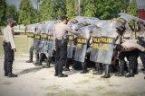 Polda Kalteng tingkatkan kemampuan personel amankan pilkada