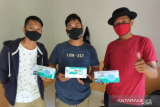 PWI Kaltara salurkan bantuan masker kepada awak media