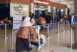 Aktivitas Bandara SMB II Palembang mulai ramai