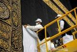Jamaah haji dari lima kota Arab Saudi tiba di Jeddah