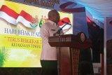 Gubernur Papua Barat Mandacan harap penegakan hukum perhatikan kearifan lokal