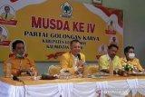 Kembali jadi ketua DPD Golkar Gumas, Jaya S Monong ungkap program utamanya