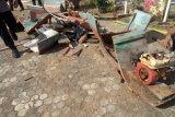 Kapal nelayan milik pelaku bom ikan di Flores Timur dimusnahkan