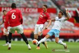 MU rebut posisi ketiga saat ditahan imbang West Ham 1-1
