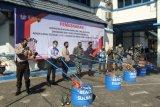 Kanwil DJBC Sulbagsel musnahkan 3,3 juta batang rokok ilegal