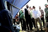 Jusuf Kalla tinjau lokasi banjir bandang di Kabupaten Luwu Utara