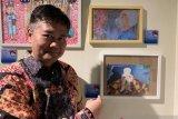 Ada lukisan dua seniman asal Yogyakarta dan klepon di Museum Shanghai